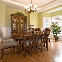 traditional dining room by Brown County Home Builders Association