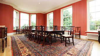 Shropshire country house dining room rug