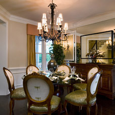Traditional Dining Room by Shryne Design
