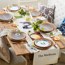 Rustic Dining Room by Shutterfly