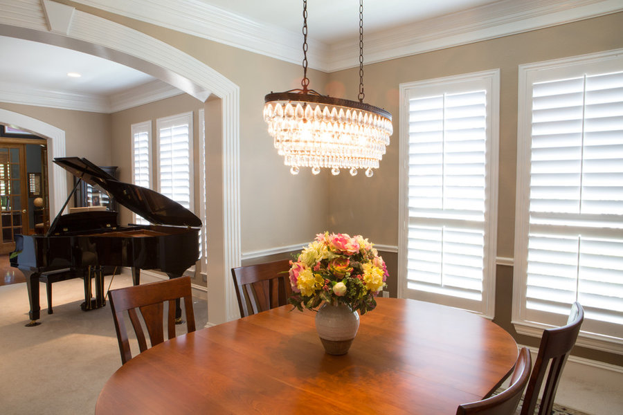 Shutters, blinds, and window treatments