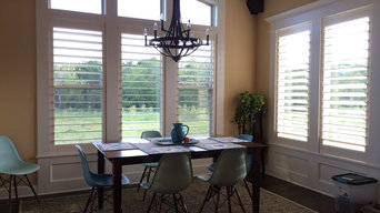 Shutters installed and room ready to enjoy!