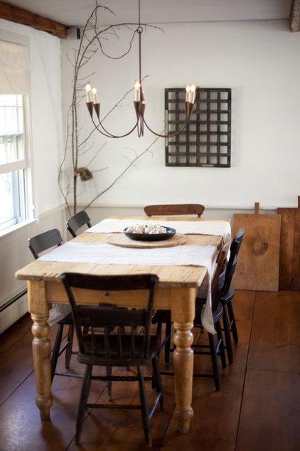 Farmhouse Dining Room by Tess Fine
