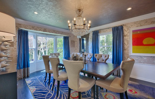 Contemporary Dining Room by Tracie Butler Interior Design