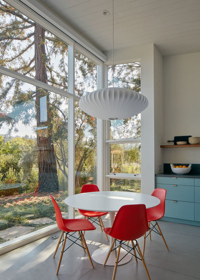 Midcentury Dining Room by Malcolm Davis Architecture
