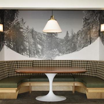 Silver Lake - Little Pine - Midcentury Modern Restaurant