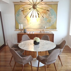 Contemporary Dining Room by Simply Grove