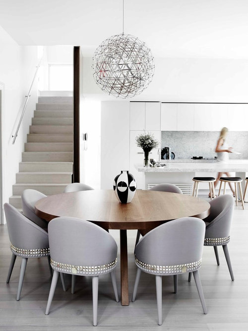 Modern Upholstered Dining Room Chairs upholstered contemporary dining chairs | houzz