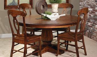 Single Pedestal Dining Table Set
