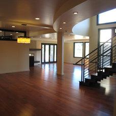 Modern Dining Room by Haxton design-build llc