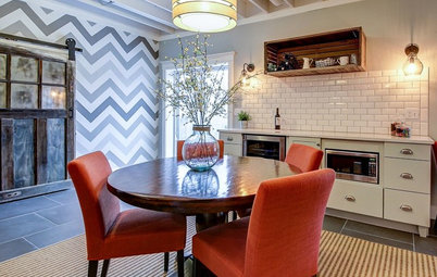 Industrial Farmhouse Style in a Fun-Filled Basement