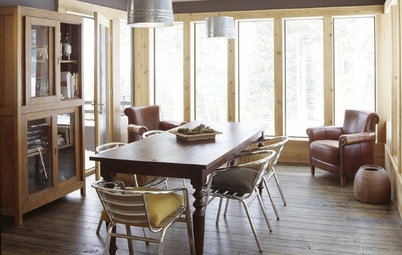 Unconventional Dining Room Seating
