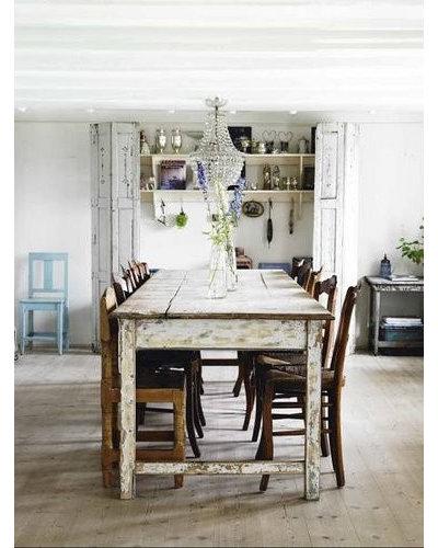 Shabby-chic Style Dining Room Skona hem