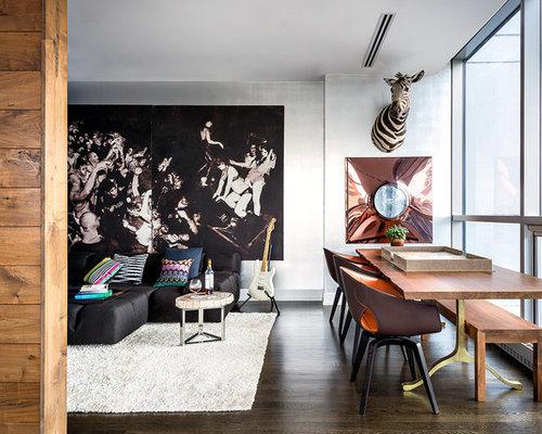 Contemporary Dining Rooms contemporary dining room ideas & design photos | houzz