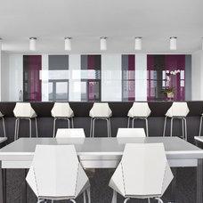 Contemporary Dining Room by Niki Papadopoulos