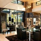 Aventura Contemporary Dining Room Miami By Arnold