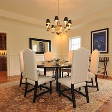 Traditional Dining Room by RR Builders, LLC