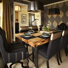 Contemporary Dining Room by Vivid Interior Design - Danielle Loven