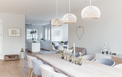 Kitchen Tour: Cool Scandi Style in an Open-Plan Family Room