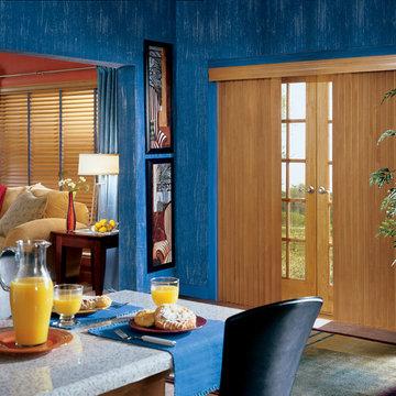 Sliding Door Window Treatments