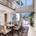 Sunnybrook Residence Contemporary Dining Room Dallas