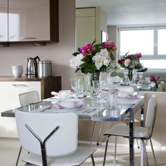modern dining room by Celia James