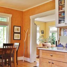 Craftsman Dining Room by Kimberley Bryan