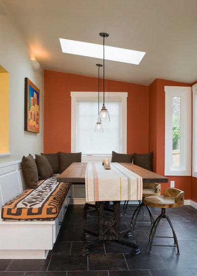 Contemporary Dining Room by Alexandra Immel Residential Design LLC