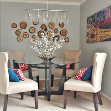 Contemporary Dining Room by Fini Design