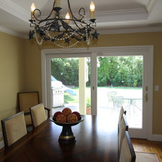Eclectic Dining Room by Nunley Custom Homes