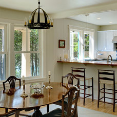 Traditional Dining Room by Whitten Architects