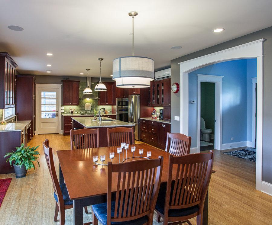 SmartHaus open kitchen/dining area