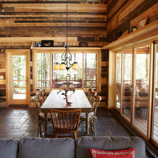 Traditional Dining Room by Nguyen Architects, Inc.