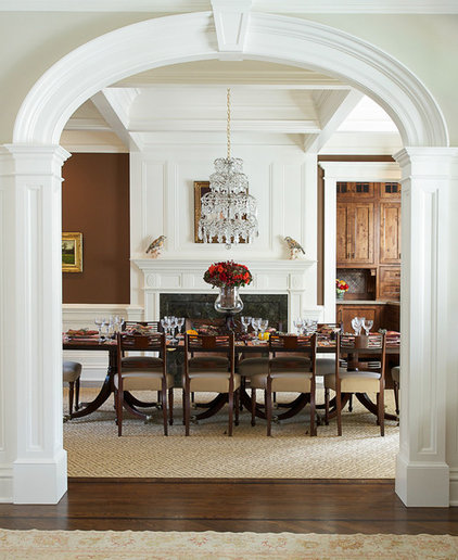 Traditional Dining Room by Country Club Homes