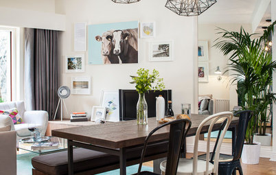 Room of the Day: Dividing a Living Area to Conquer a Space Challenge