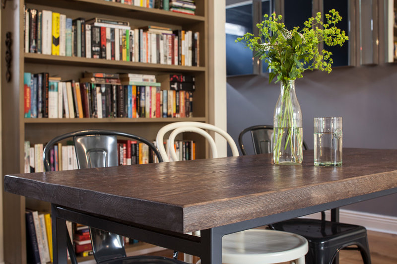 Contemporary Dining Room by Kingston Lafferty Design