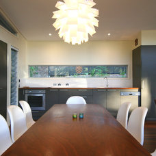 Contemporary Dining Room by Sandberg Schoffel Architects