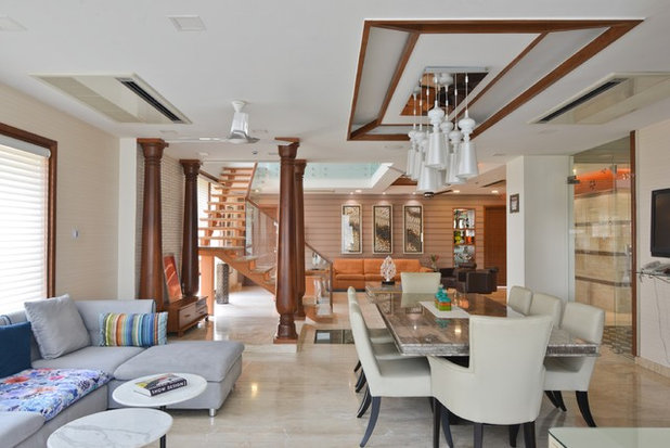 Contemporary Dining Room by SPACES ARCHITECTS@ka