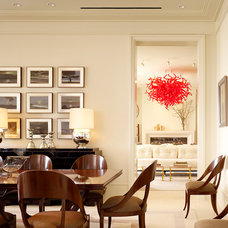 Traditional Dining Room by BAR Architects