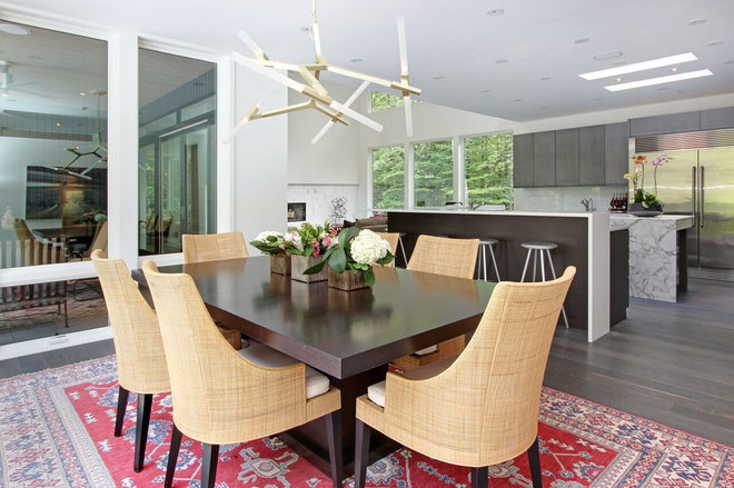 Contemporary Dining Room by RS Design Studio
