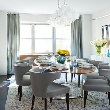 Soft Modern Manhattan Residence