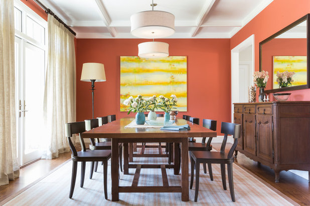 Traditional Dining Room by Alden Miller Interiors