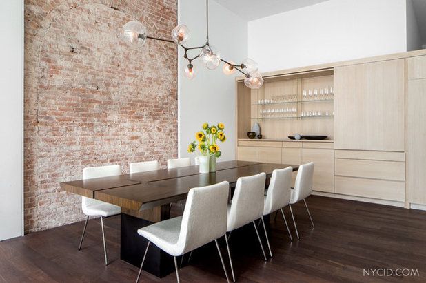 Modern Dining Room by NYC Interior Design