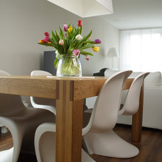 Modern Dining Room by Lea Frank Design