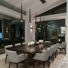 Contemporary Dining Room by FranchiDesignPtyLtd