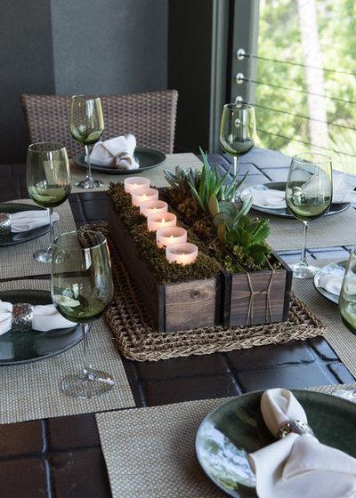 Comedor ideas para montar un sugerente centro de mesa for Centros de mesa para comedor
