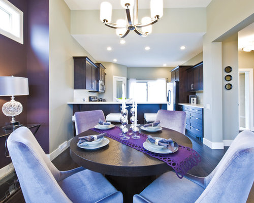 Purple dining room home design ideas pictures remodel for Purple dining room ideas