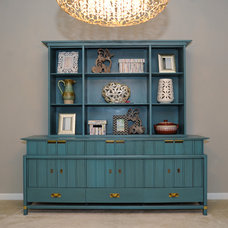 Eclectic Dining Room by AFP Interiors LLC