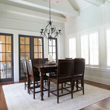 Beach Style Dining Room by Margaret Donaldson Interiors