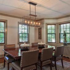 Contemporary Dining Room by B Fein Interiors LLC